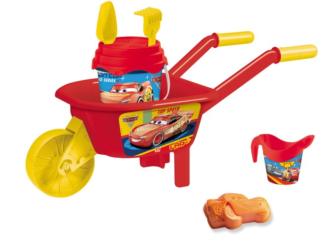 18665 - CARS WHEELBARROW SET