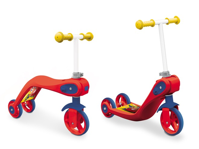 18550 - CARS 3 SCOOTER 2 IN 1