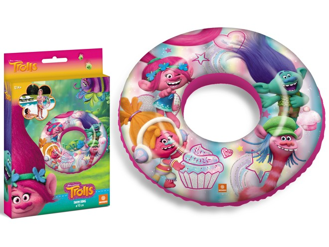 16701 - TROLLS SWIM RING