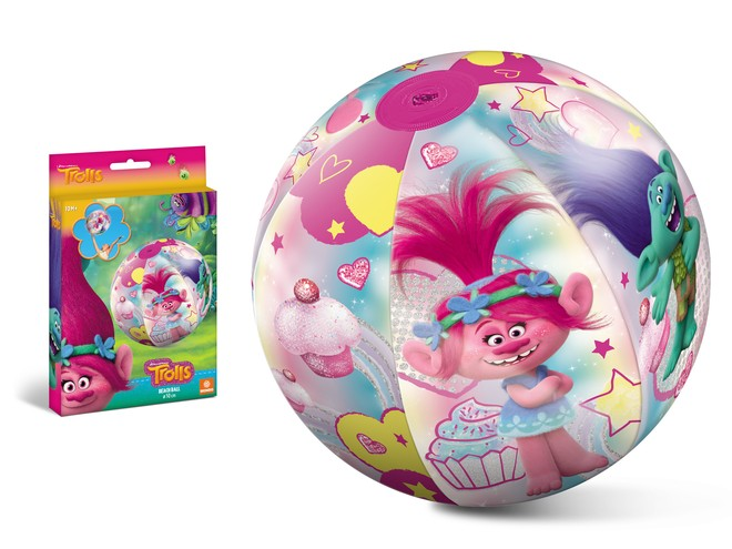16702 - TROLLS BEACH BALL