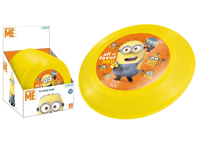 09089 - MINION FLYING DISC