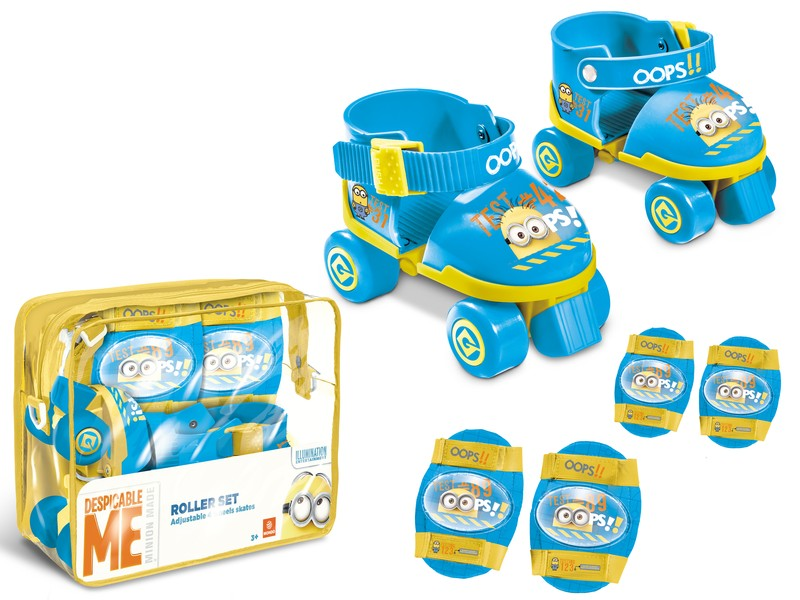 28049 - MINION MADE ROLLER SKATES SET